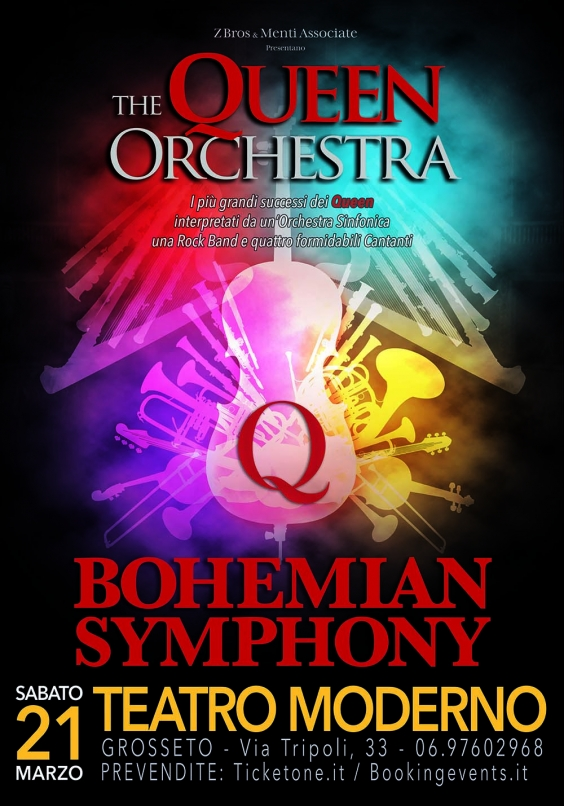 Bohemian Symphony The Queen Orchestra